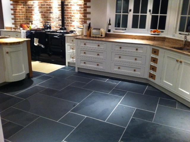 Comfortable 12X24 Floor Tile Designs Small 2 X 12 Subway Tile Flat 2 X 6 Ceramic Tile 24X24 Ceramic Tile Old 24X24 Marble Floor Tiles Brown2X4 Tile Backsplash Slate Floor Tiles. Rustic Black Slate Floor Tiles   Image 2   Bgbc